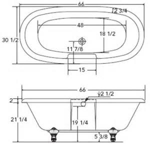 tomlin classico clawfoot tub