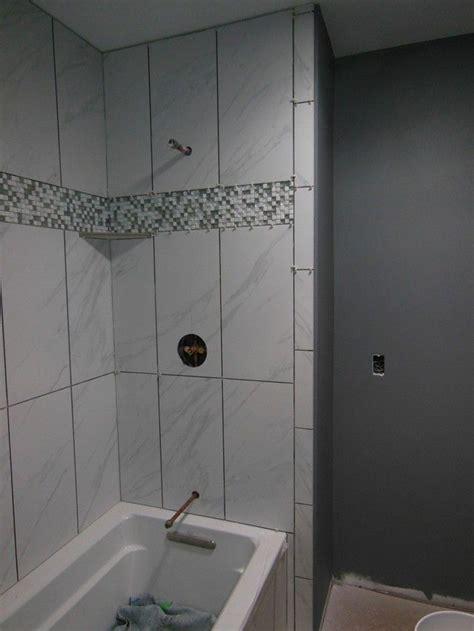 12x24 bathroom tile 12 best 12x24 shower tile designs images on pinterest