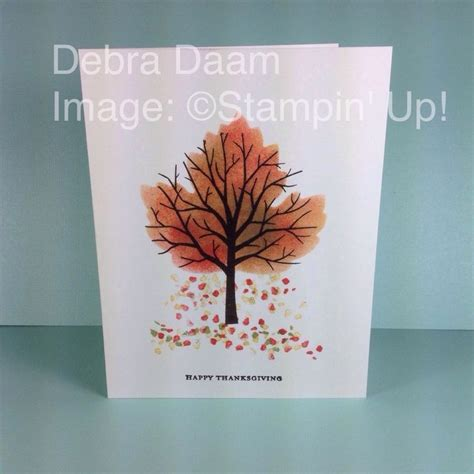 Handmade Fall Cards - 1000 ideas about handmade fall cards on