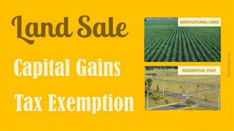 capital gains tax bonds and section 54ec capital gain on sale of land tax exemption rules