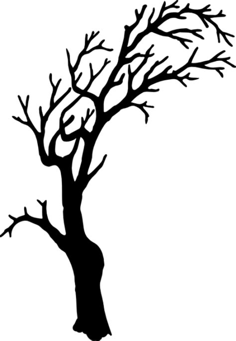spooky tree pumpkin template scary tree pictures clipart best