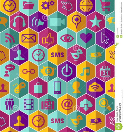 Pattern Background App | app icon set pattern stock images image 32018704