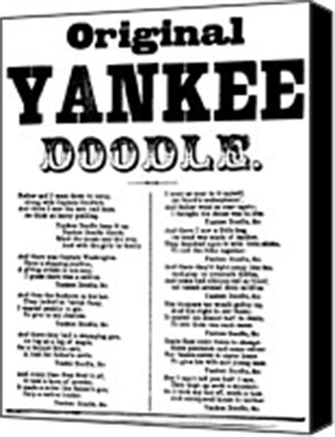 yankee doodle real name song lyrics photographs canvas prints and song lyrics