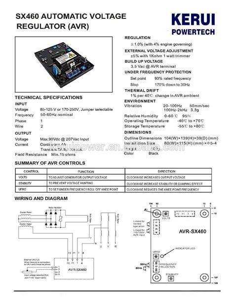 newage stamford generator wiring diagram crane electrical