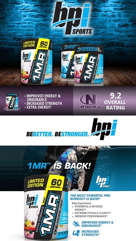 supplement 1mr 1mr pre workout powder by bpi