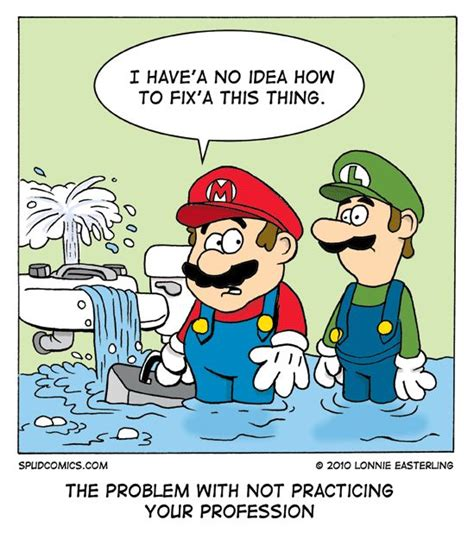 some plumbing humor stuff