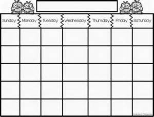 Days Of The Week Calendar Template by Days Of The Week Schedule Template Search