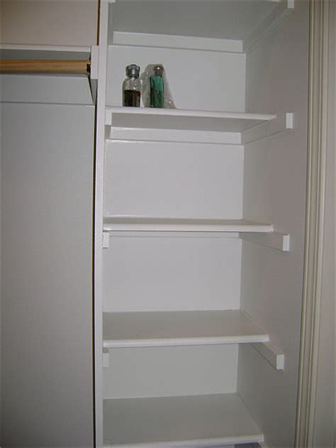Wood Closet Shelf by Do It Yourself Wood Closet Shelving Ehow Uk