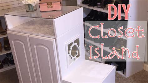 closet island diy closet island build my boutique closet ep3