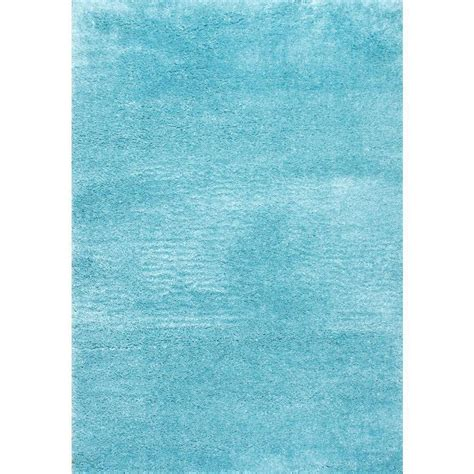 Nuloom Gynel Cloudy Shag Baby Blue 5 Ft 3 In X 7 Ft 6 Baby Blue Area Rug