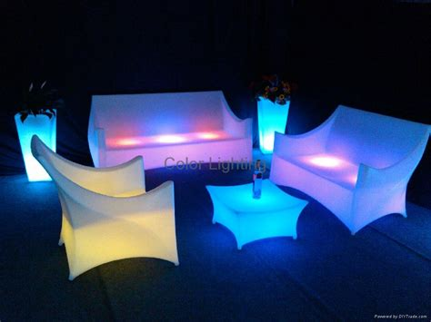 led sofa modern led sofa bcg 111s color lighting china