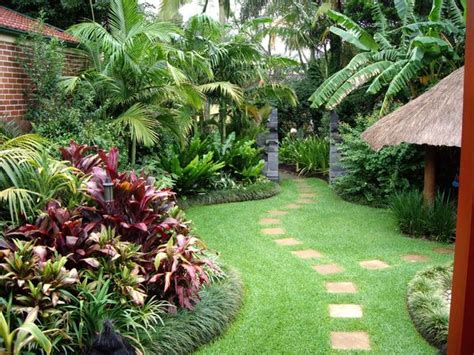 Tropical Backyard Landscaping Ideas Lendro Plan Front Garden Ideas Queensland