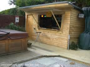 Wooden Shed Kits Backyard by Lili S Bar Pub Entertainment From Back Garden Owned By