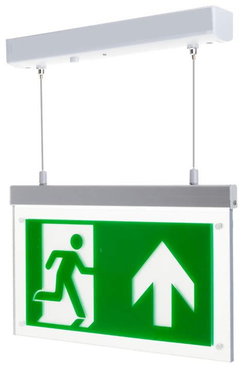 Hanelle Exit channel rz m3 led h exit sign hanging