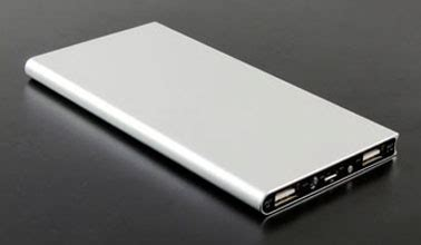 Power Bank Asus 8000mah tenergy 8000mah slim dual port power bank metallic silver