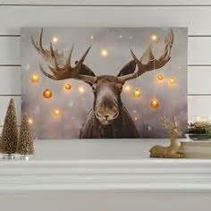 Christmas Moose Home Decor by 1000 Images About Rustic Christmas On Pinterest Rustic