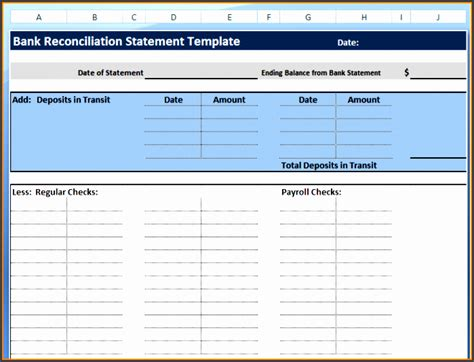 7 Excel Bank Statement Template Sletemplatess Sletemplatess Bank Statement Template Calculator