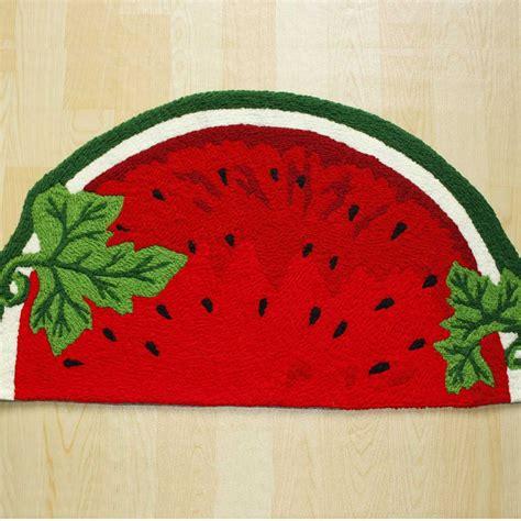 watermelon rug strawberry rug