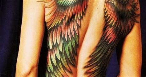 Angel Tattoos Women Fashion And Lifestyles | angel wings tattoos on back for girls women fashion and