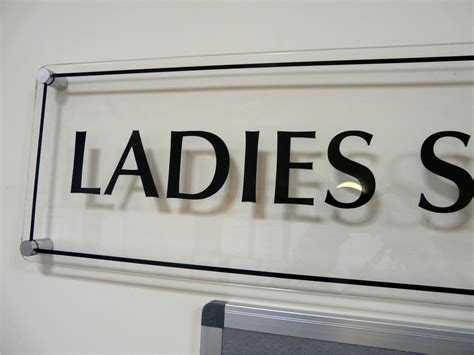 ladies section ramsdale park golf centre refurbished entrance corridor