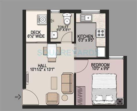 500 square foot apartment floor plans 500 square feet apartment floor plan house design and plans