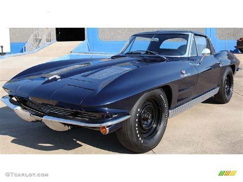 1963 corvette sting coupe 1963 tuxedo black chevrolet corvette sting fuelie