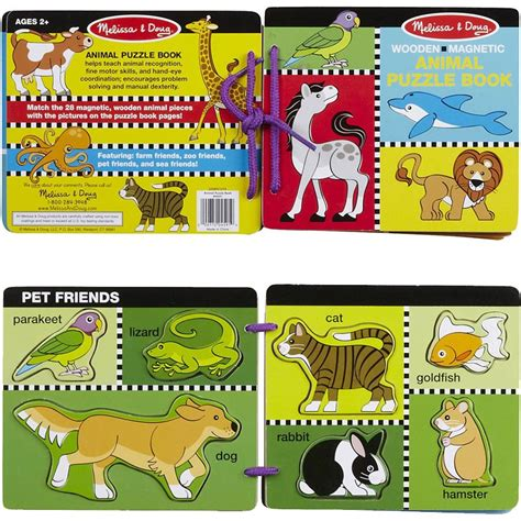 Early Learning Book Animal Dan Animal Planet Pets Activity Book animal wooden puzzle book educational toys planet