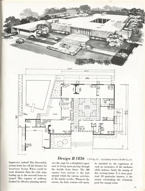 luv homes floor plans vintage house plans mid century homes 1960s homes p b