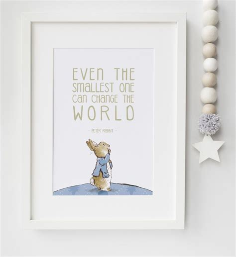 printable quotes for baby room peter rabbit baby quote beatrix potter nursery print