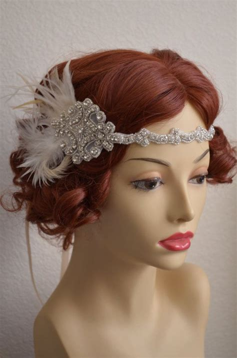 Rhinestone Headpiece 17 best images about wear on feathers
