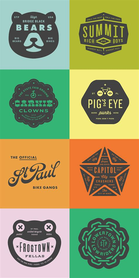 logo badge design 20 beautiful vintage style logos for design inspiration