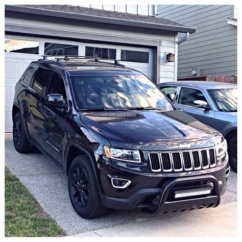 jeep grand light bar 2014 jeep grand wk2 black plasti dip bull bar