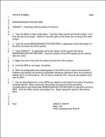 Air Memo For Record Template by 12 Best Images Of Ar 25 50 Memorandum Exle Ar 25 50