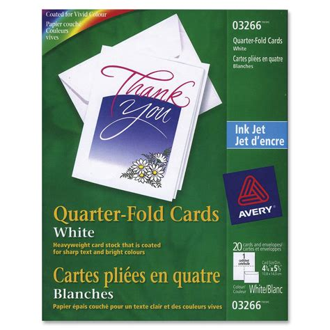 quarter fold greeting card template avery 03266 avery quarter fold card ave03266 ave 03266