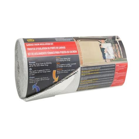 M D Building Products 22 In X 40 Ft Silver White Garage Home Depot Garage Door Insulation