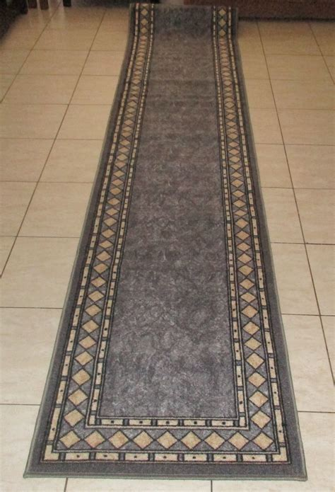 hallway mats and rugs quality bargain priced modern rubber back hallway runner rugs 67x600cm from carpet rug
