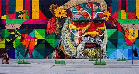 brazilian graffiti artist creates world s largest street