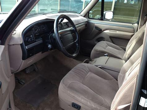 1995 ford bronco interior pictures cargurus