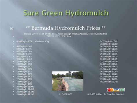 sure green hydromulch mansfield tx 76063 817 473 3577