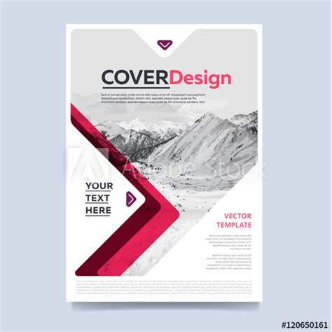 annual report cover page design sles brochure layout design vector illustration cover design