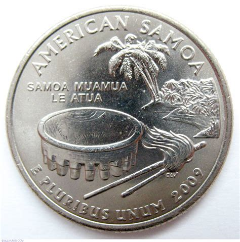 The American Quester Quarter Dollar 2009 D American Samoa Quarter District Of Columbia And United States