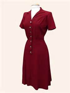 1940s dresses 1940s day tea dress from vivien of holloway