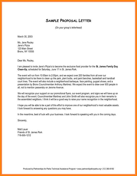 business proposal introduction sample introduction letter