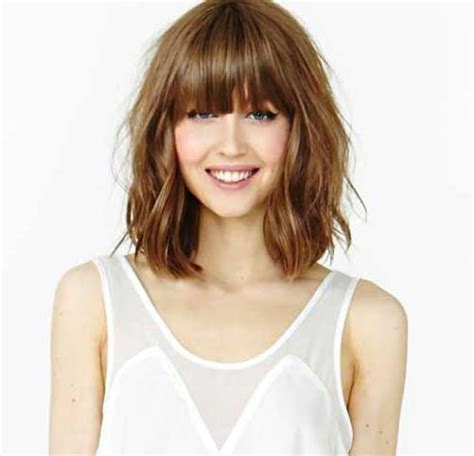 short bob with fring pieces hairstyles long bob with fringe hair