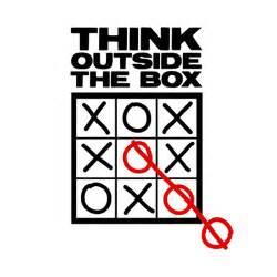 Think outside the box shirtoid