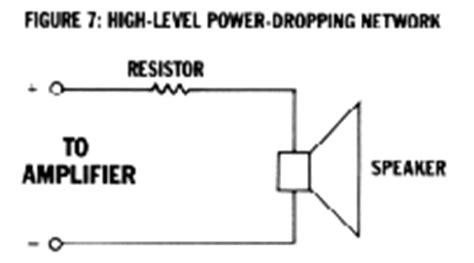 tweeter resistor wattage how to car stereo nine ways to adjust signal level