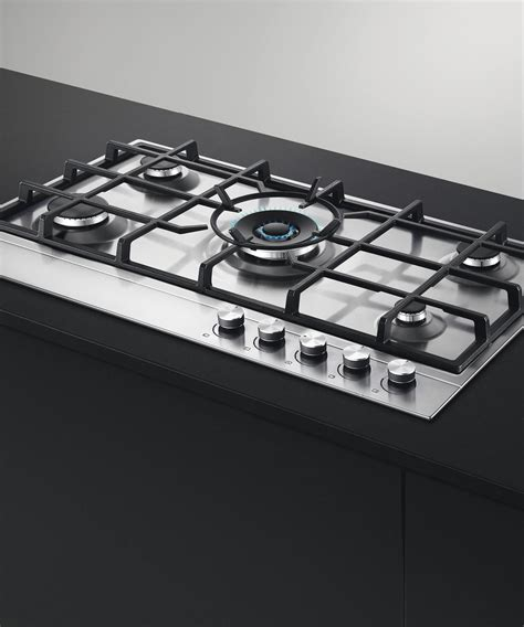 fisher paykel gas cooktops cg905dx1 fisher and paykel gas on steel cooktop