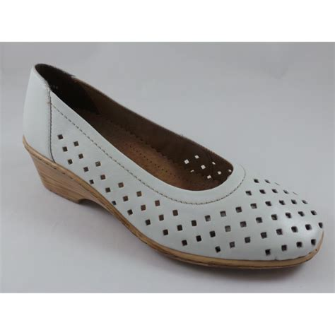 Wedges Js42 By Jenn Shoes forli angenaht 22 51181 white leather wedge shoe