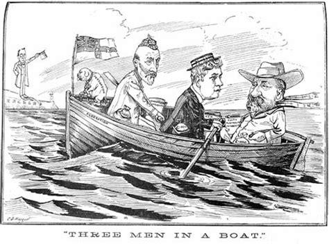 who wrote three men in a boat three men a diary a dog or riverine pooterish fare