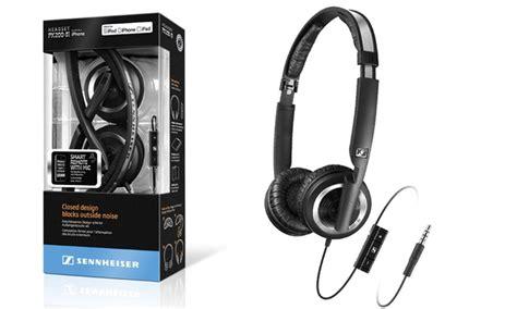 Headset Sennheiser Px 200 sennheiser px 200 ii i headphones groupon